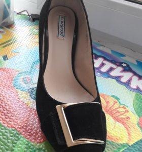 Туфли замша d.bigioni