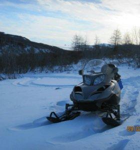 Снегоход+телега