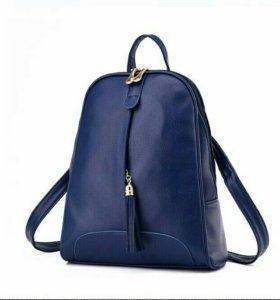Рюкзак новый синий