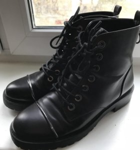Ботинки сапоги bershka