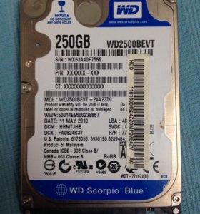 Жесткий диск для ноутбука 250GB