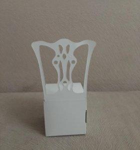 Бонбоньерки стульчики
