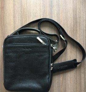 Кожаная сумка Dr.Koffer