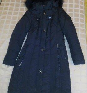 Очень теплое пальто.