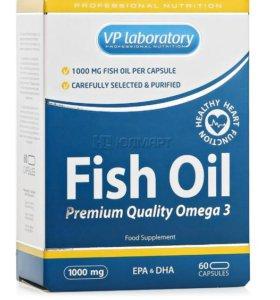 Комплекс жирных кислот VP Laboratory Fish Oil