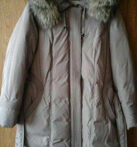 Зимнее пальто-пуховик