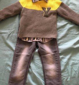 Комплект одежды на мальчика р. 80-86 + 5 см