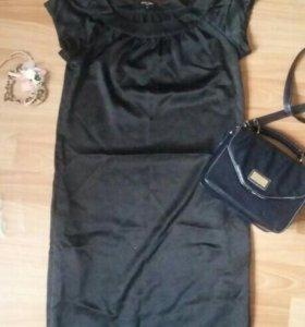 Платье черное офисное
