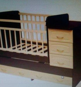 Кроватка детская маяник