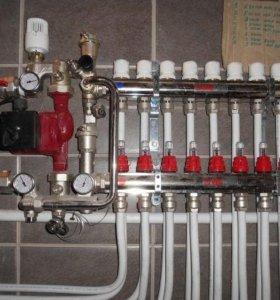 отопление, сантехника, канализация