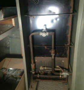 Котел газовый с водогрейкой