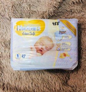 Памперсы Хагис Huggies для новорождённых
