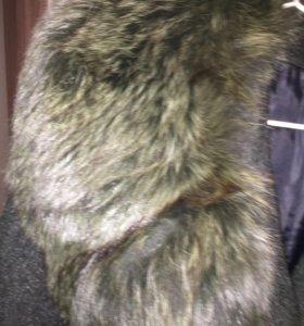 Пальто,натуральный мех