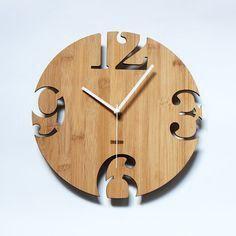 Эксклюзивные часы из дерева для вашего дома.