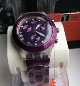 Часы ⌚️ swatch женские, диафан, новые