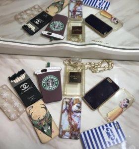 Чехлы на IPhone 5,5s, SE