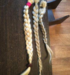 Натуральные волосы д/наращивания и краска эстель