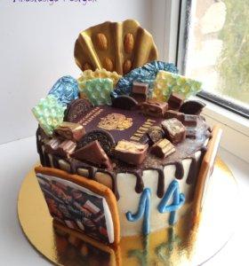 Тортики, капкейки, зефир и безе с любовью.