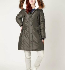 Новая куртка на зимнем синтепоне р.54