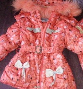 Куртка для девочки. Зимняя