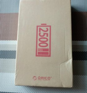 Внешний аккумулятор Orico. 2500 mah