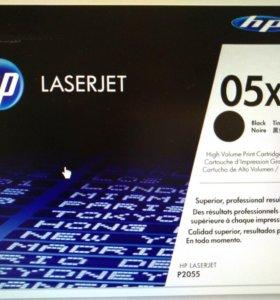 Тонер-картридж HP CE505X оригинальный