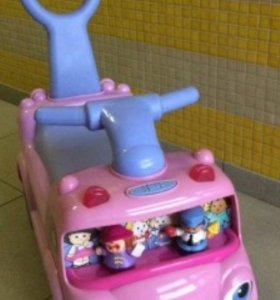 Детская машинка-каталка Fisher-Price