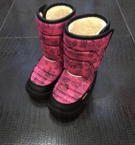 Новые зимние сапожки