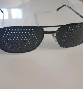 Перфорационные очки (дифракционные)