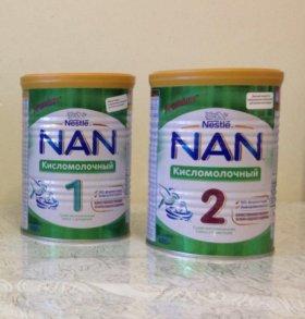 Детская смесь Nan кисломолочный