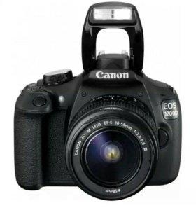 Фотоаппарат зеркальный Canon EOS 1200D 18-55DC Kit