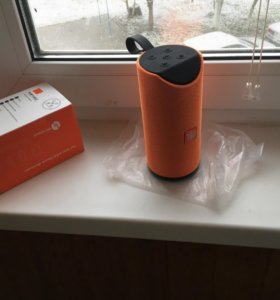Портативная Bluetooth колонка TG113 оранжевая