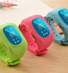 Умные детские часы с GPS трекером