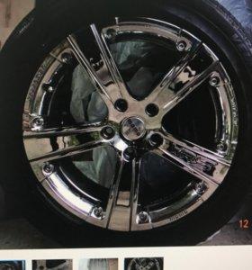 Хромированные диски для BMW
