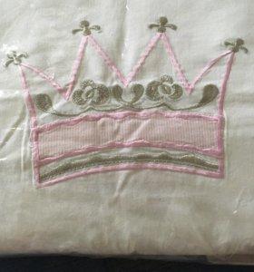 Постельное бельё 2 комплекта+тёплое одеяло,подушка