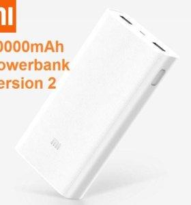 Xiaomi Power Bank 20000 1,2ver.(Оригинал) Гарантия