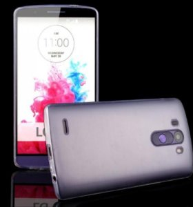 Силиконовый чехол для смартфона LG G3