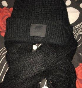 Шапка,шарф