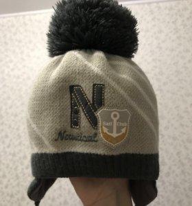 Шапка зима на холлофайбере