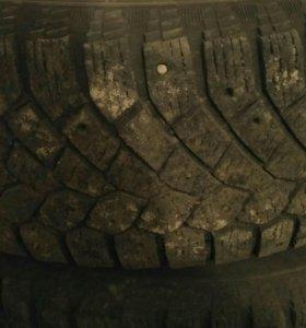 Зимние шины на литых дисках R15