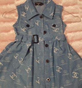 Платье детское Шанель