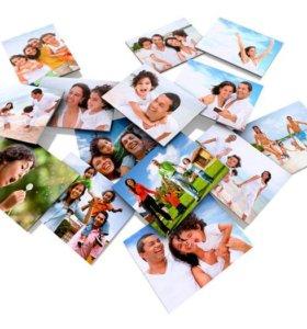Печать фотографий от 5 руб.