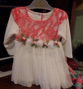 Платье на девочку турецкое