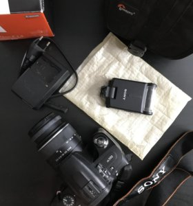 Фотоаппарат зеркальный Sony A390