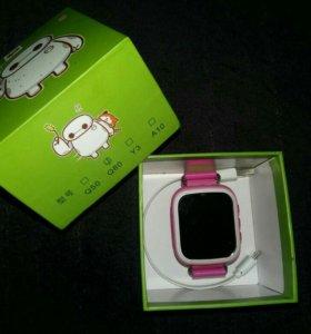 Часы-телефон Q80 для девочки