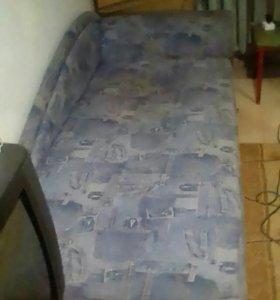 Диван угловой двухспальный