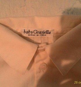 Итальянская рубашка на мальчика