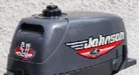 Лодочный мотор Johnson 5R, 2х- тактный, 5 л.с.