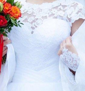 Счастливое свадебное платье (новое)