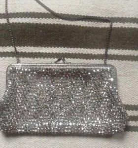 Винтажные театральная сумочка